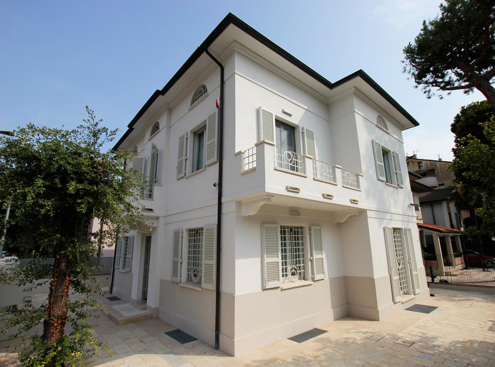 Andrea Gattei Architetto - Residential - Villa Bianca - esterni villa Rimini