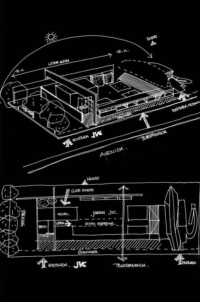 Andrea Gattei Architetto - Competition - disegni Concorso Guadalajara