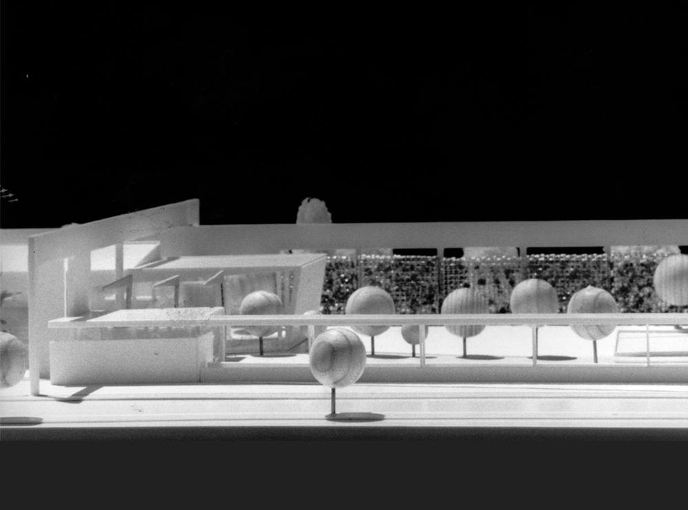 Andrea Gattei Architetto - Competition - plastico Concorso Guadalajara