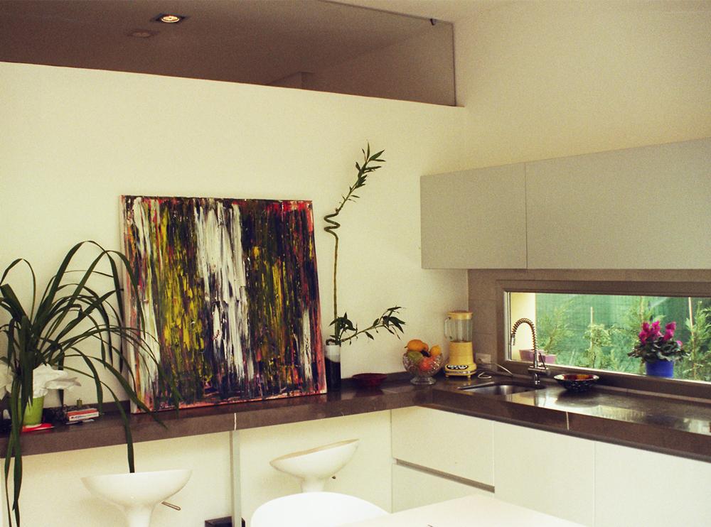 Andrea Gattei Architetto - Residential - Appartamento Magenta - cucina appartamento Rimini