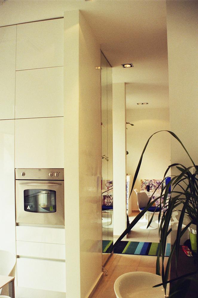 Andrea Gattei Architetto - Residential - Appartamento Magenta - soggiorno appartamento Rimini