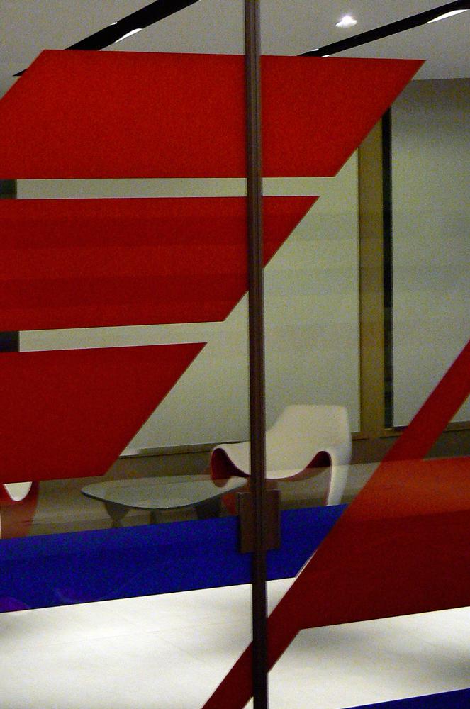 Andrea Gattei Architetto - Commercial - particolari interni SMP Racing Montecarlo