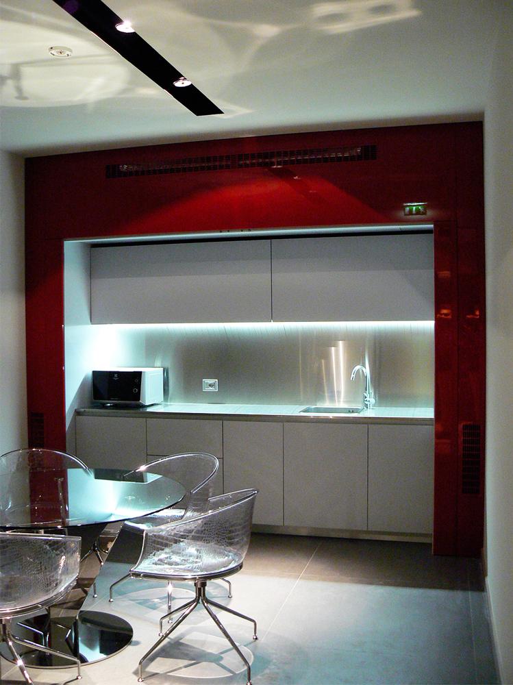 Andrea Gattei Architetto - Commercial - interni SMP Racing Montecarlo