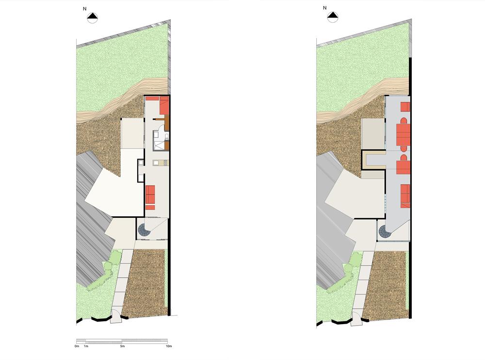 Andrea Gattei Architetto - Residential - Villa Verde - pianta villa Pedregal, Ciudad de Mexico