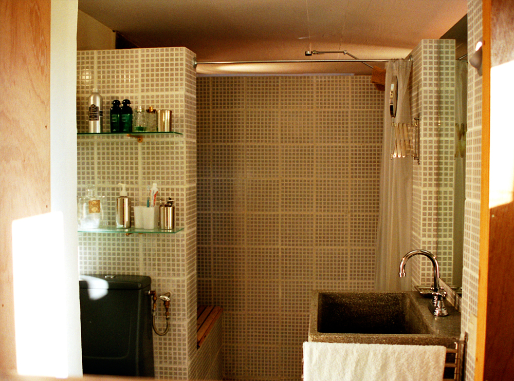 Andrea Gattei Architetto - Residential - Villa Verde - particolari interni bagno villa Pedregal, Ciudad de Mexico