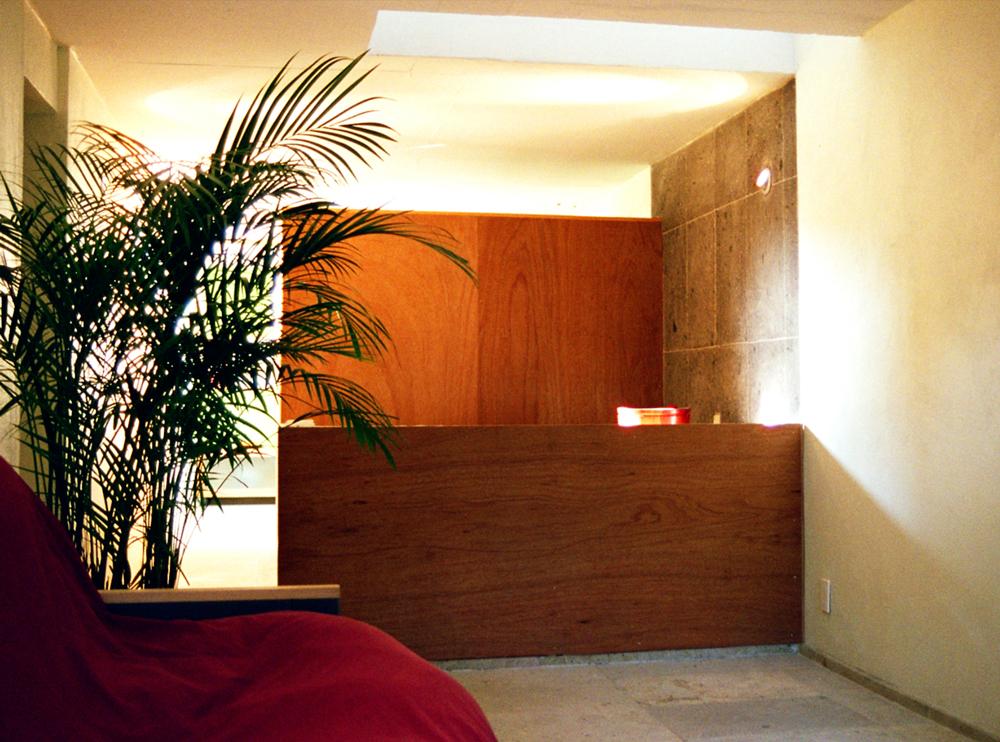 Andrea Gattei Architetto - Residential - Villa Verde - particolari interni soggiorno cucina villa Pedregal, Ciudad de Mexico