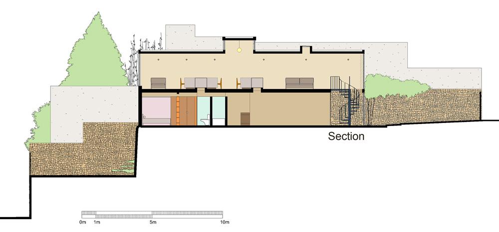 Andrea Gattei Architetto - Residential - Villa Verde - disegni villa Pedregal, Ciudad de Mexico