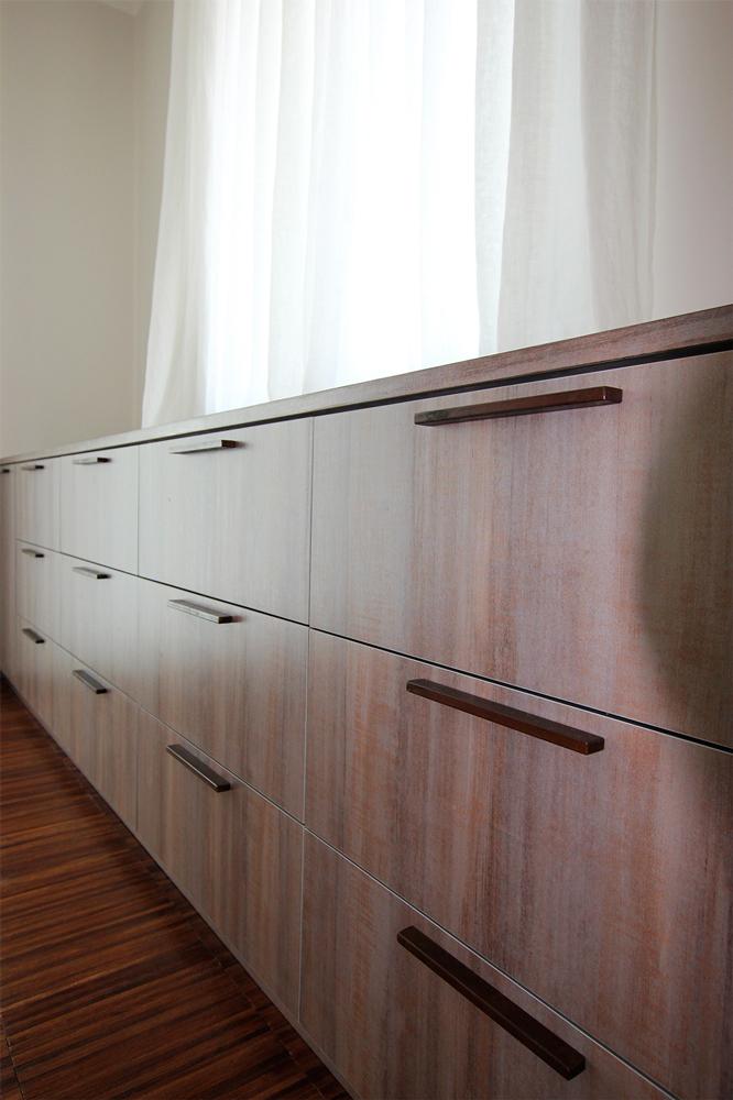 Andrea Gattei Architetto - Design & Research - Cassettiera - cabina armadio su disegno