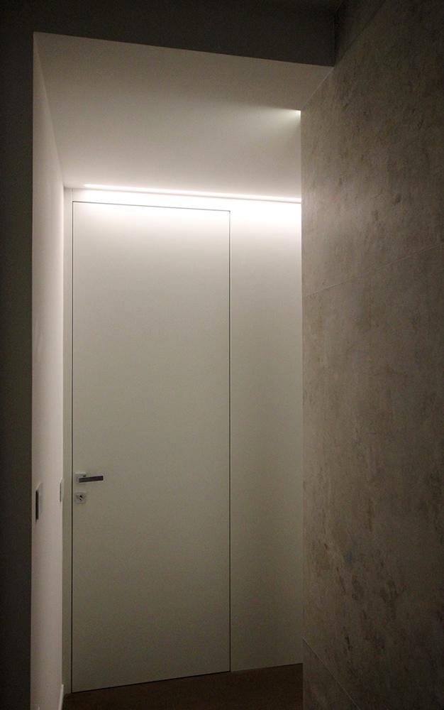 Andrea Gattei Architetto - Design & Research - Porta interna su disegno