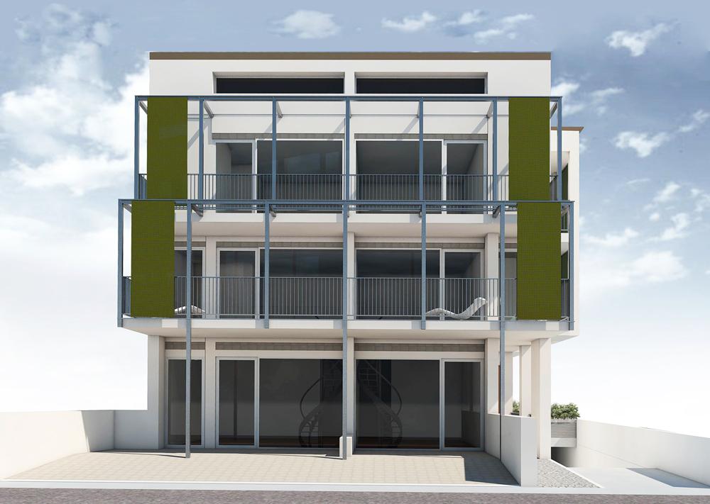 Andrea Gattei Architetto - Resort - Residence Fanny - esterni Rimini