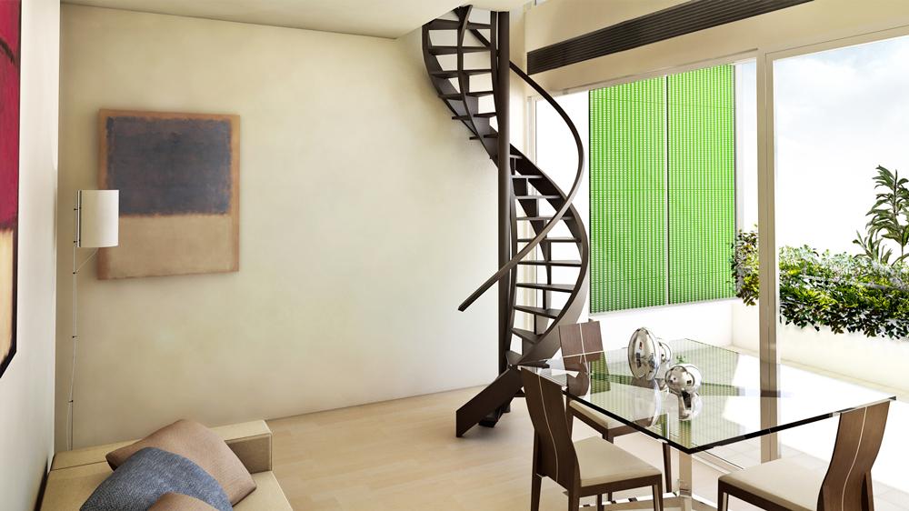 Andrea Gattei Architetto - Resort - Residence Fanny - interni Rimini