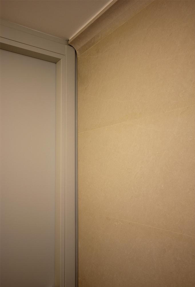 Andrea Gattei Architetto - Design & Research - Lavandino integrato pietra - bagno su disegno