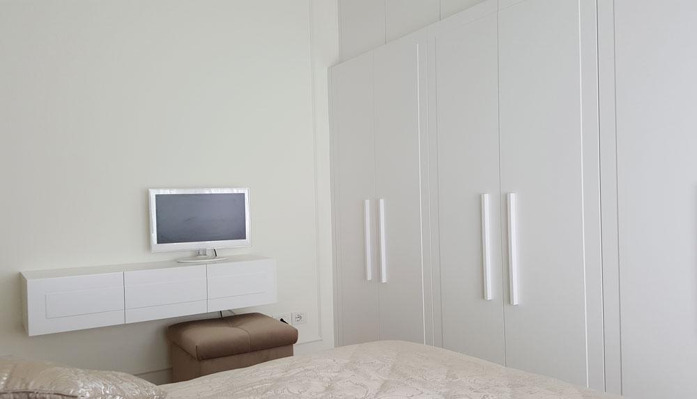 Andrea Gattei Architetto - Residential - Attico Bianco - camera ospiti Riccione