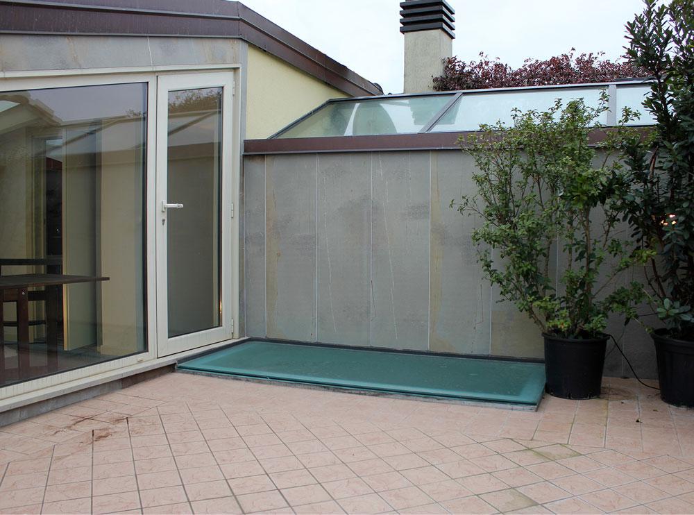 Andrea Gattei Architetto - Residential - Il Nido - terrazzo attico Rimini