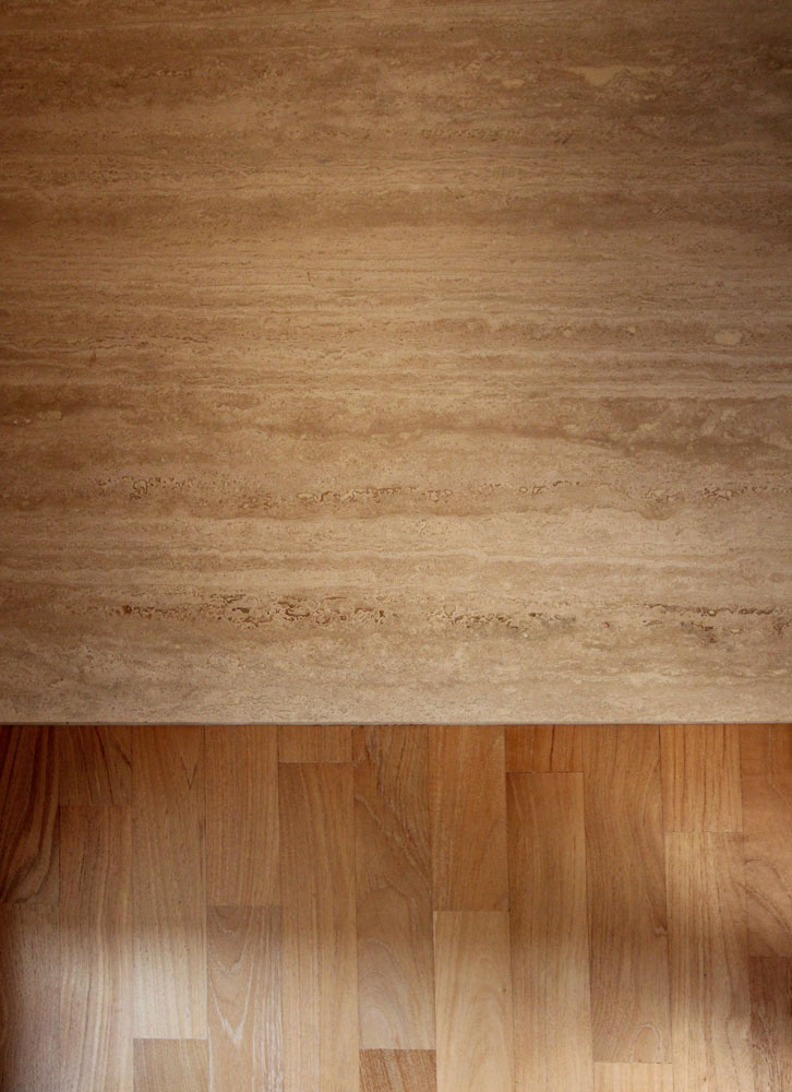 Andrea Gattei Architetto - Residential - Il Nido - travertino legno Rimini
