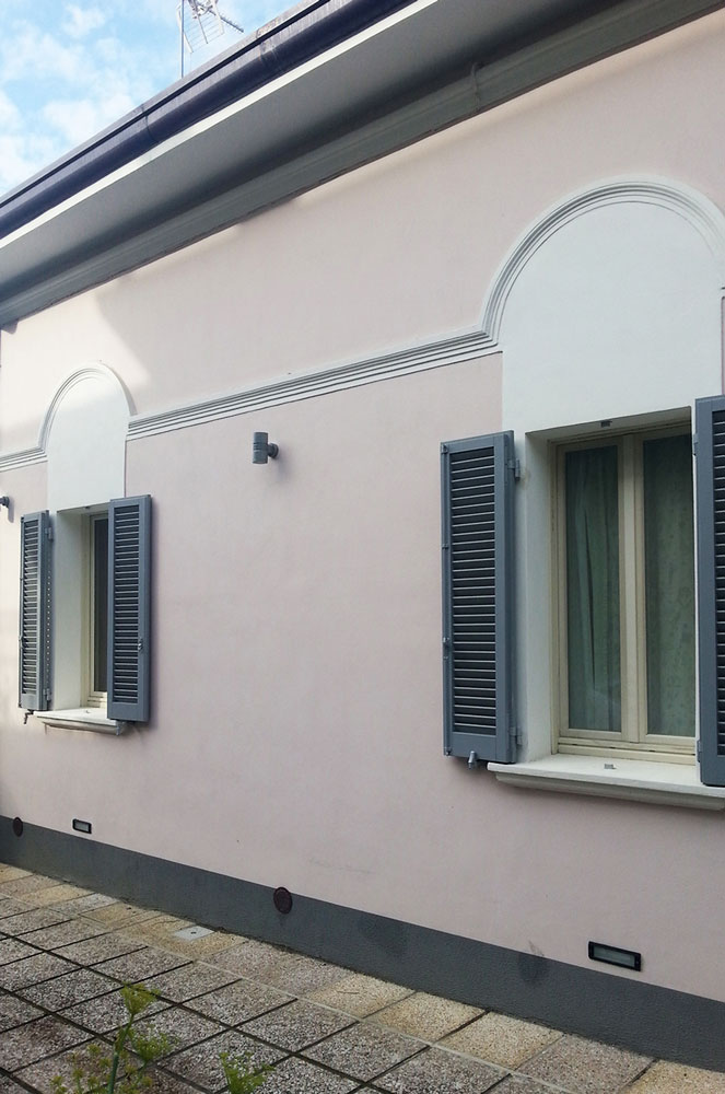 Andrea Gattei Architetto - Residential - Villa Rosa - esterni villa Rimini