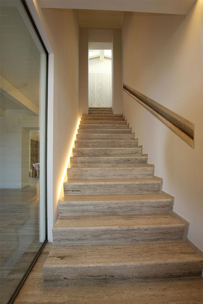Andrea Gattei Architetto - Residential - Villa dell\'Ottocento - scala villa