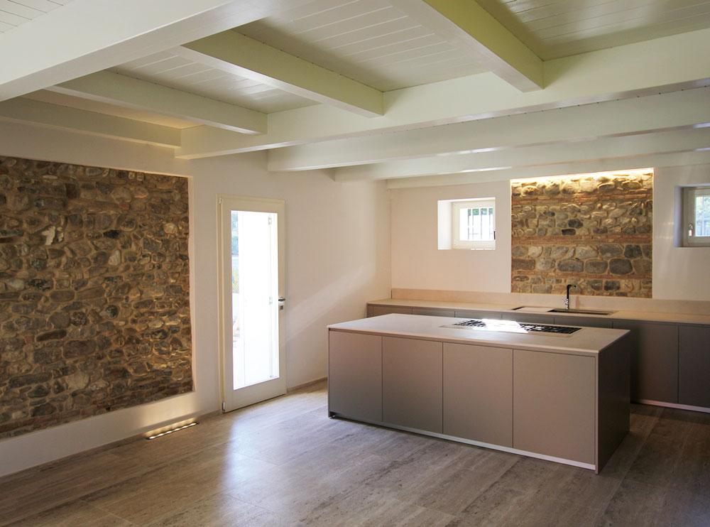 Andrea Gattei Architetto - Residential - Villa dell\'Ottocento - cucina villa