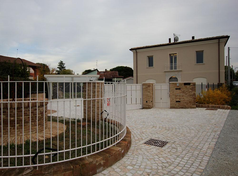 Andrea Gattei Architetto - Residential - Villa dell\'Ottocento - esterni villa