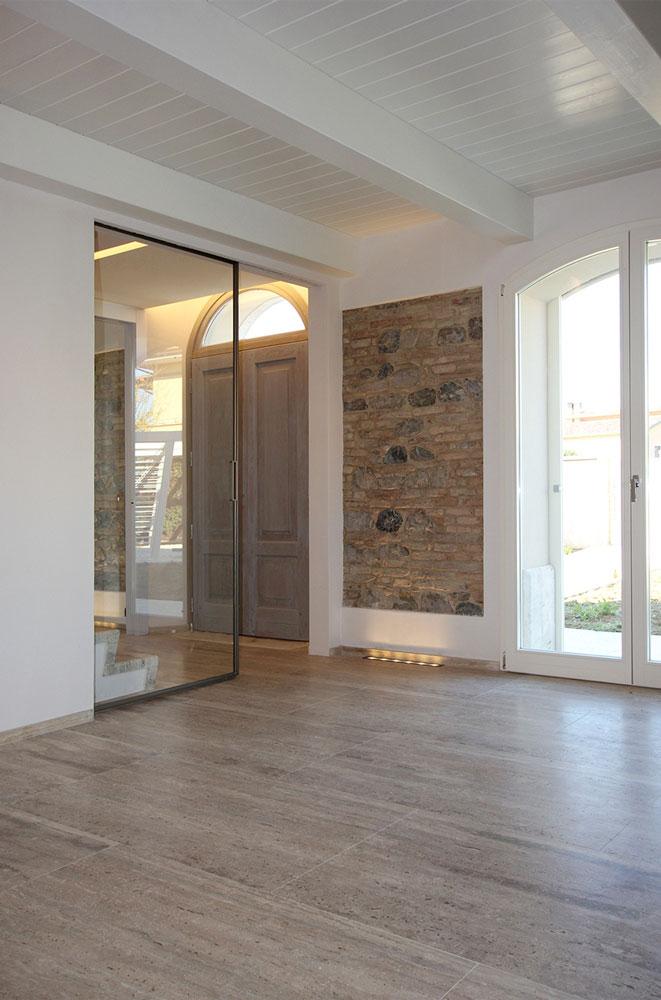 Andrea Gattei Architetto - Residential - Villa dell\'Ottocento - soggiorno villa