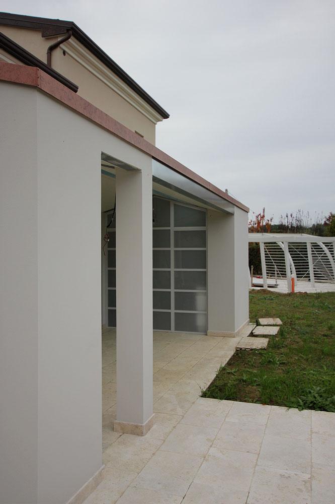 Andrea Gattei Architetto - Residential - Villa dell\'Ottocento - esterni portico villa